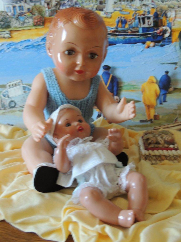 françoise et bébé juanin
