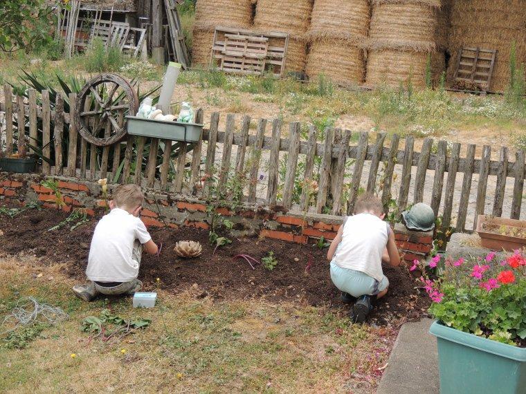 mes petits jardiniers en herbe