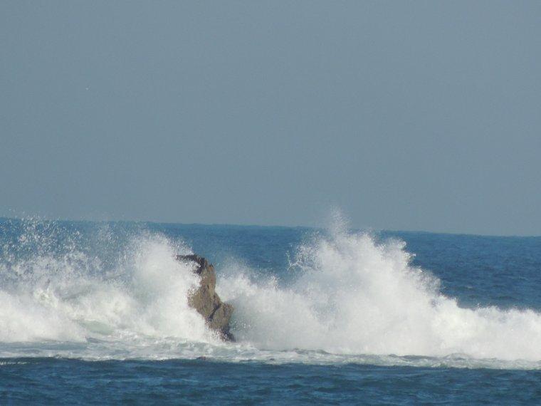 la plage de PLOUGASNOU dans le haut finistère
