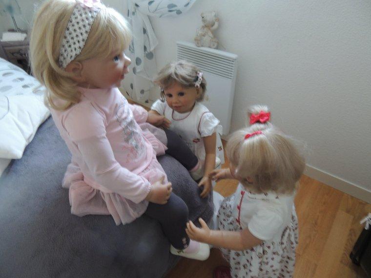 Mélanie et ses cousines du teich