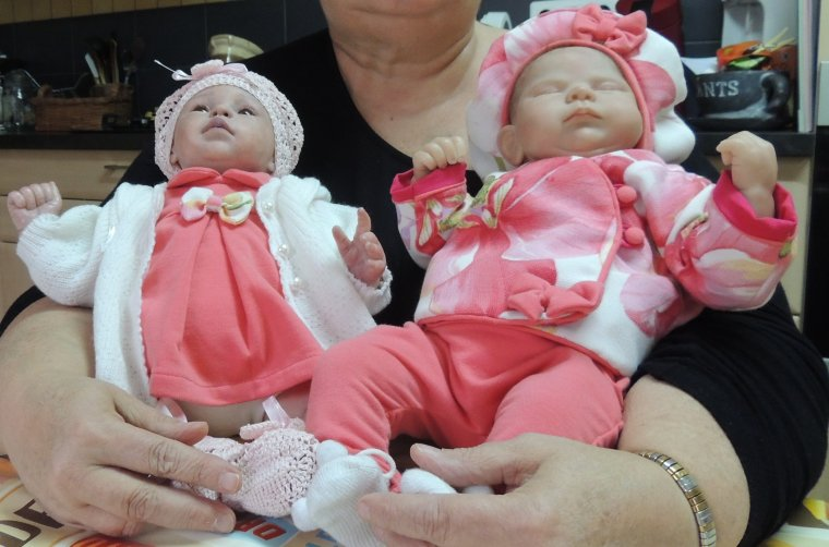 Marisol & Amalia avec leurs nouveaux zabits...........
