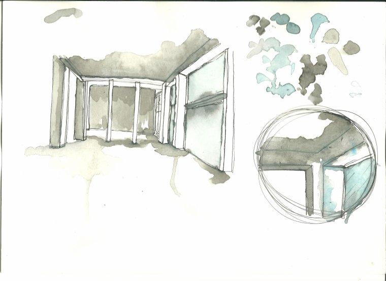"""salomé fait un projet art & design  """"la chocolaterie"""" tout une complexité...........une petite partie seulement"""