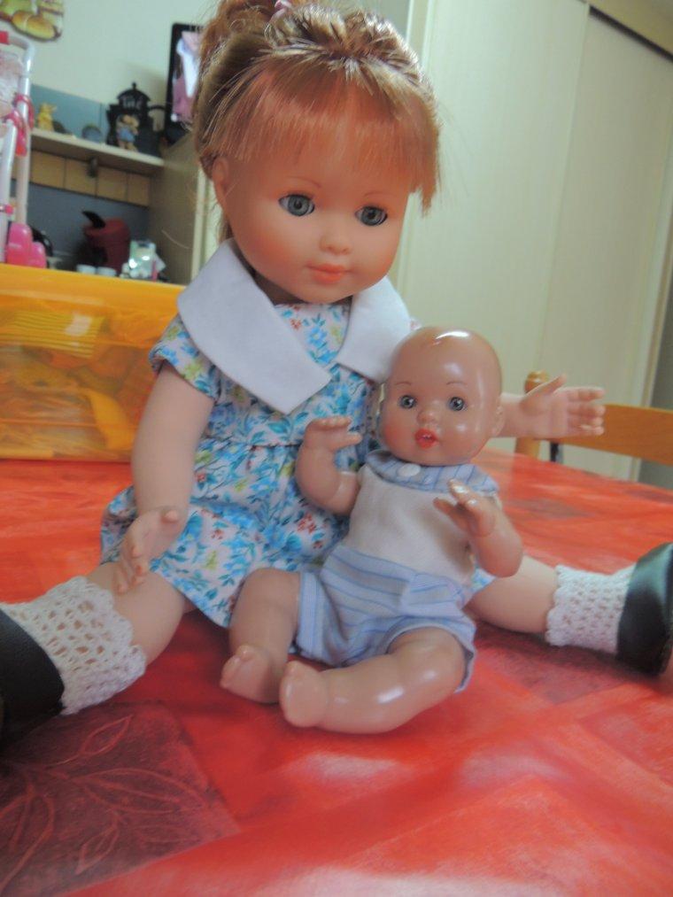 marie françoise et son bébé