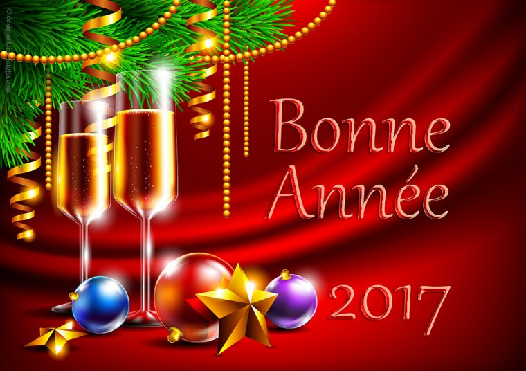 BONNE ANNEE 2017 A TOUS MES AMIS .....BONHEUR...JOIE...PROSPÉRITÉ ET SURTOUT LA SANTE