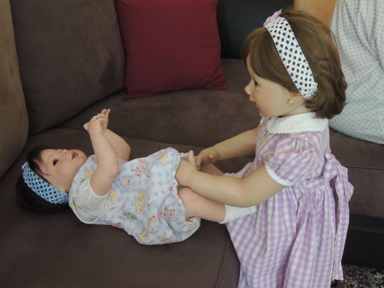 Prune change sa petite soeur