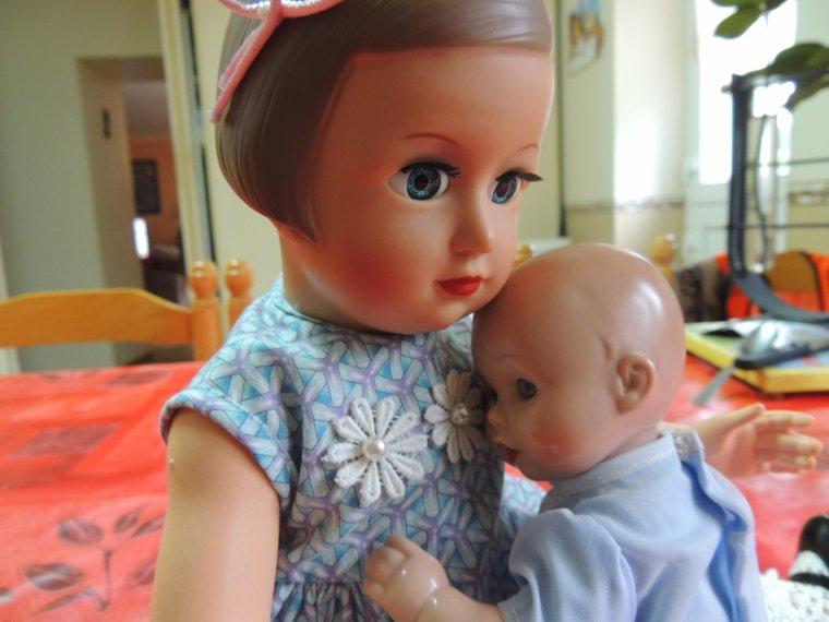 françoise et bebe juanin