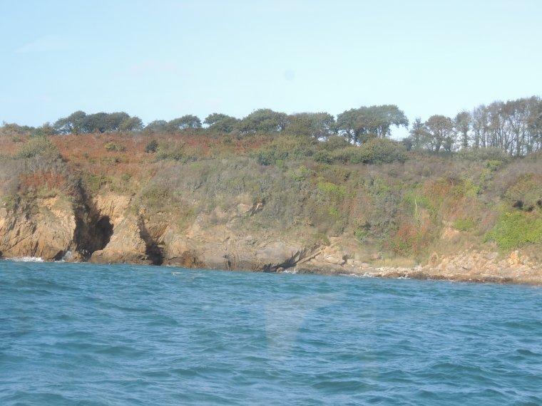 qq fotos de notre promenade en bateau de pont-aven à belon par la mer 1h30 sur la mer