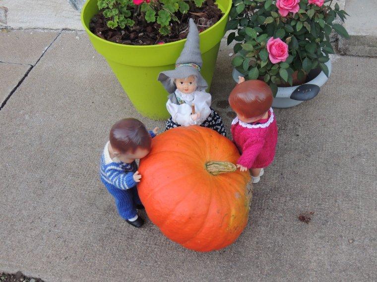 halloween avec les effanbee