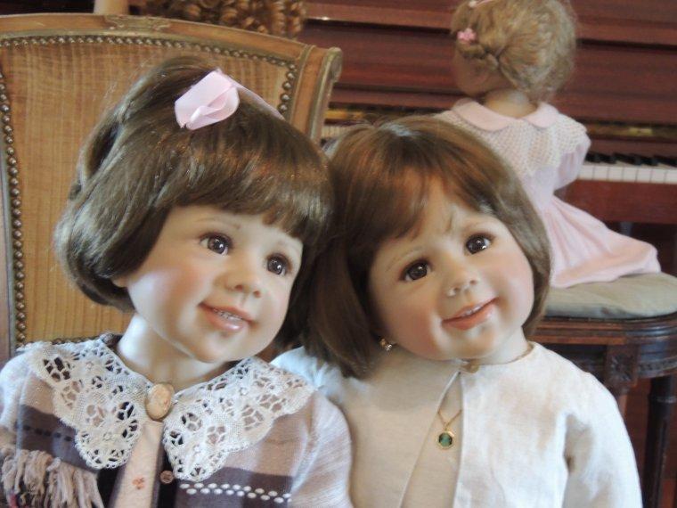 Prune et sa soeur Léa