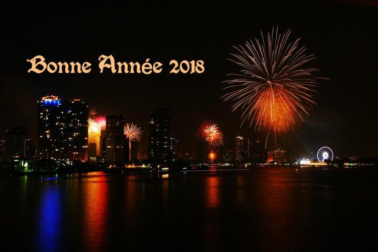 meilleurs voeux 2018 à toutes et à tous