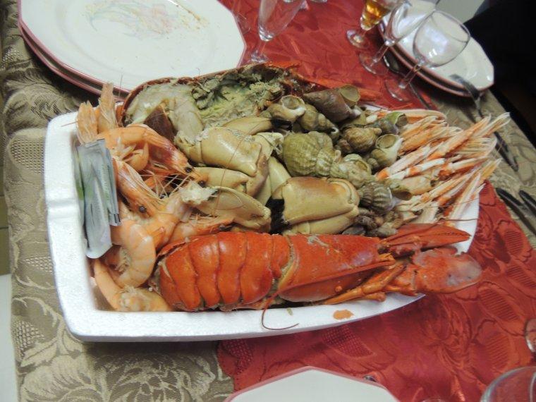 repas de fête de ce jour