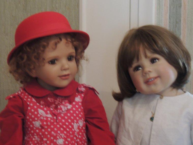 Prune et sa cousine Camille