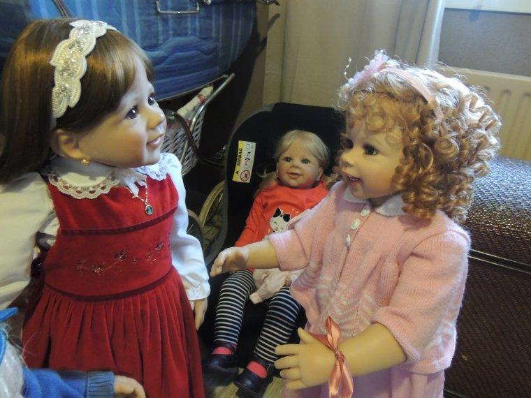 Gwenn fait connaissance de Prune et de son frere Thyméo
