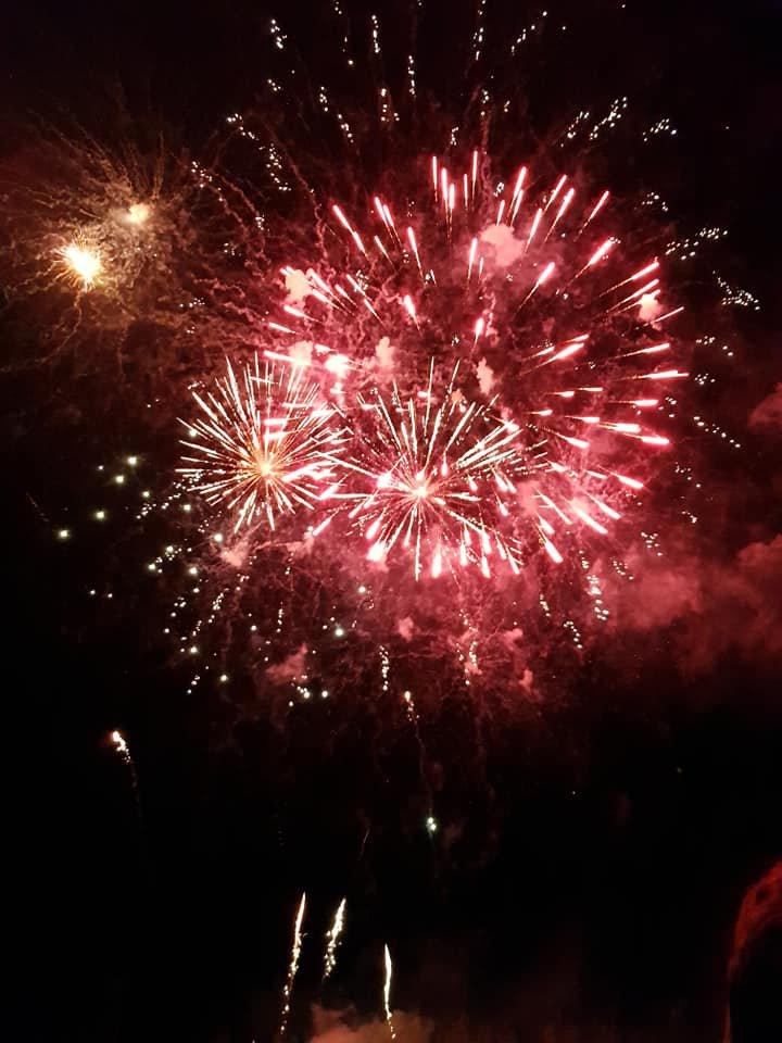 le feu d artifice chez nous du 13juillet