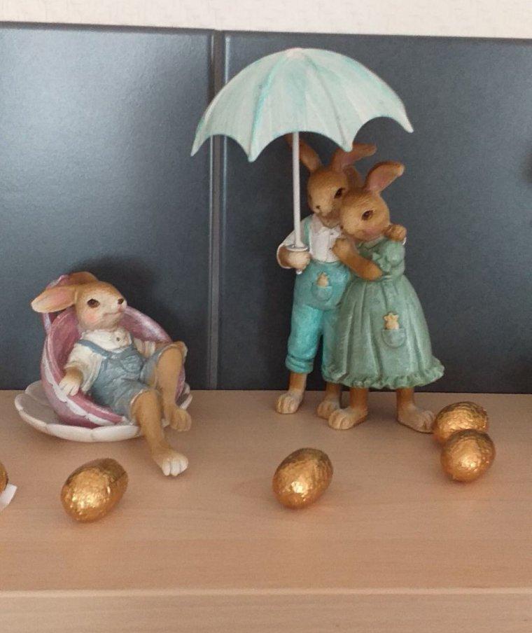 mes lapins de pâques