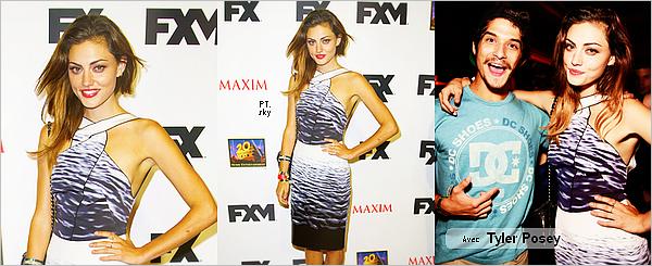 ------19/07/13 Phoebe au Comic Con 2013 à San Diego!