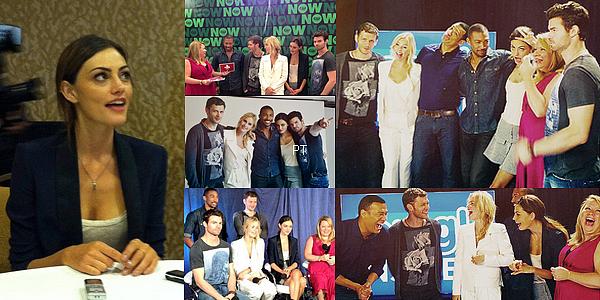 ------20/07/13 Phoebe & le cast de TO étaient au Comic-Con !