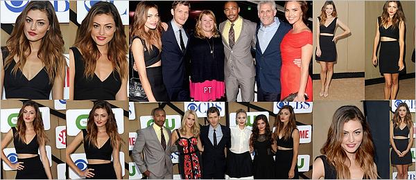 ------30/07/13 Phoebe au TCA Summer Party avec le cast de TO!