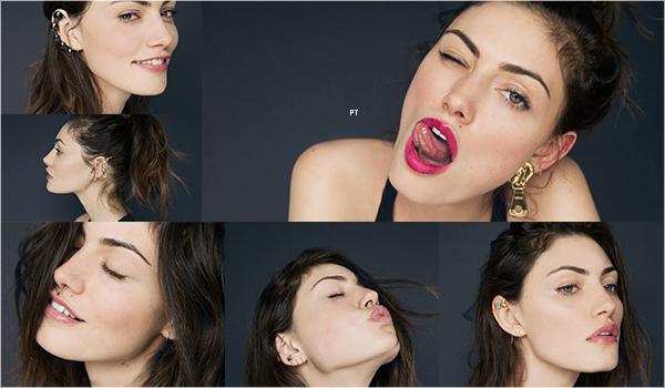 """------Shoot -Découvrez Phoebe pour Into the goss """"Fake your pierciengs""""..."""