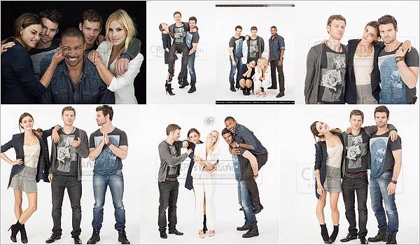 ------ Shoot- Découvrez le shoot de Phoebe, Daniel et Joseph pour le Comic-Con 2013