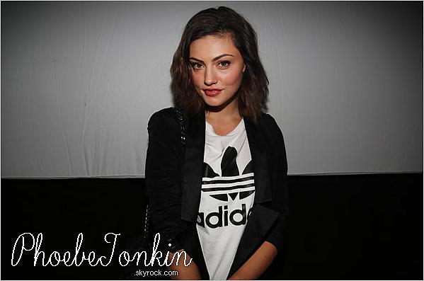 ------ 13/02/13- Découvrez Phoebe pour le Adidas Unveils Energy Boost