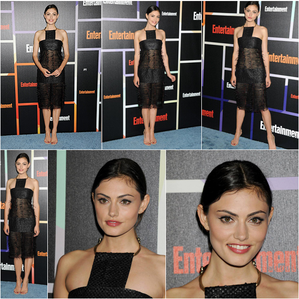 ------26/07/14 Phoebe était au Célébration d'Entertainment Weekly au Comic Con de San Diego!