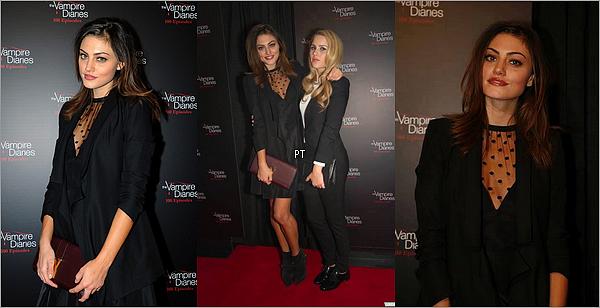 ------ 9/11/2013- Phoebe était à la cérémonie du 100e épisode de TVD
