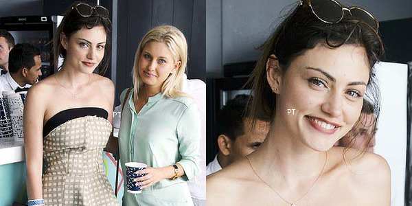 ------ 04/01/2014- Phoebe était au Icebrgs New Year's Party à Sydney