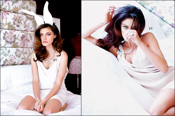 ------Shoot- Découvrez l'intégralité du shoot de Phoebe pour le Maniac Magazine!