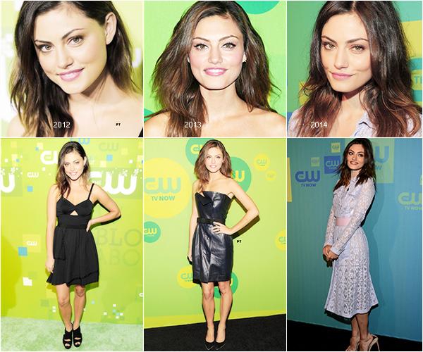 """------15/05/14 - Phoebe au """"THE CW NETWORK'S 2014 UPFRONT"""""""