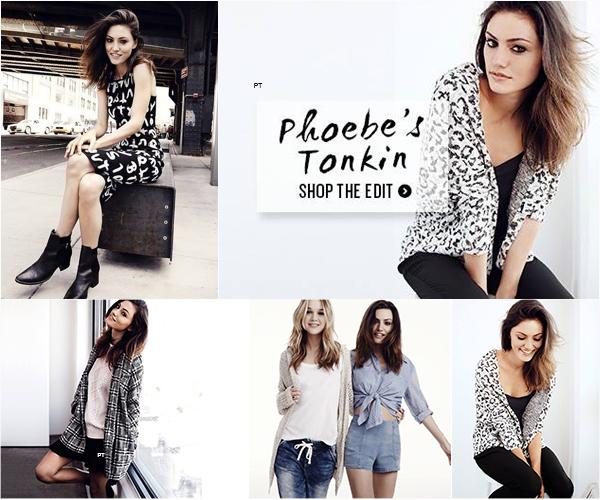 ------Shoot- Découvrez Phoebe pour sa nouvelle campagne Cotton on