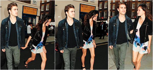 ------11/07/14 Phoebe et son boyfriends Paul W. étaient au Chiltern Firehouse à Londres!