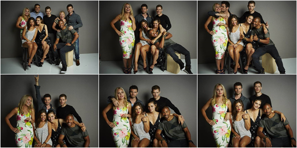 ------25/07/14 Découvre les portraits du cast TO lors du Getty Images Portrait Studio pendant le Comic-Con International par Samsung Galaxy!