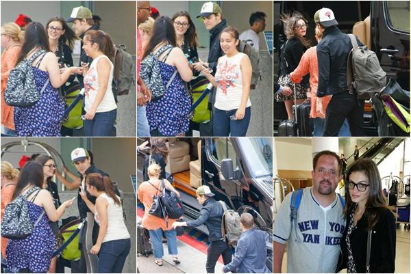 ------27/07/14 Phoebe et Paul Wesley quittant leur hôtel de San Diego!