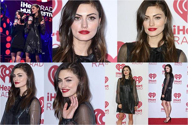 ------20/09/14-Phoebe était au IHeartRadio Music Festival à Las Vegas!