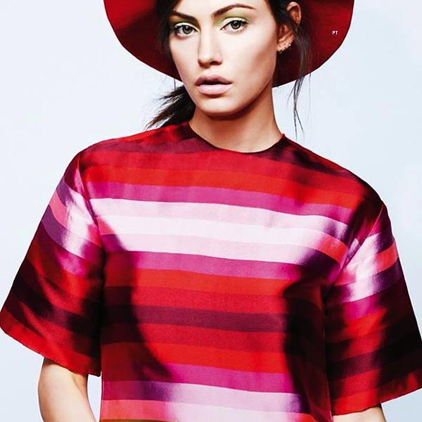 ------ Shoot-Phoebe pour le Instyle Magazine du mois de janvier 2015...