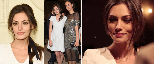 ------ 31/03/15-Phoebe était au CHANEL Paris-Salzburg Metiers d'Art Collection à New York