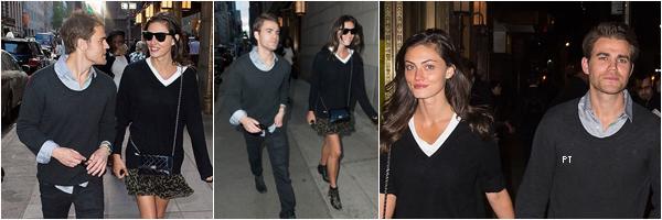 ------ 13/05/15-Phoebe et Paul se promenaient dans les rues de NY..