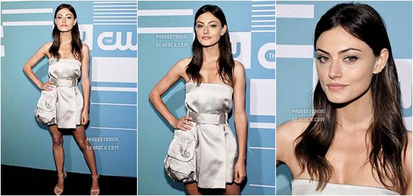 • EVENT - Le 14/05/2015, Phoebe était au CW Network's Upfront à NY