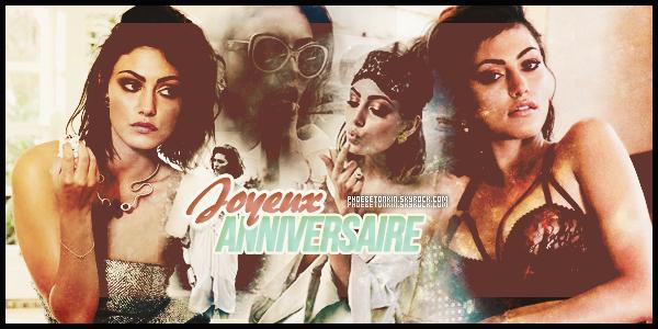 • ANNIVERSAIRE - Merveilleux anniversaire à notre admirable Phoebe qui fête aujourd'hui ces 26 ans..