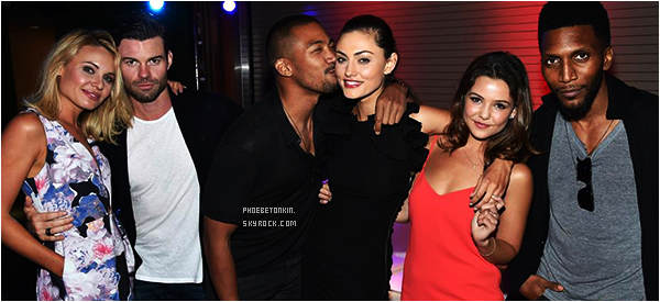 • EVENT - Le 09 /07/2015, Phoebe et le cast de TO était au MTV Fandom Awards à San Diego