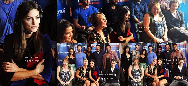 • EVENT - Le 10 /07/2015, Phoebe et le cast de TO participaient à l'émission de radio d'EW Radio au SiriusXM