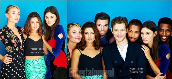 • EVENT - Le 10 /07/2015, Phoebe et le cast de TO participaient au shoot du Comic Con à San Diego