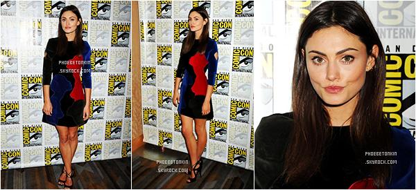 • EVENT - Le 10 /07/2015, Phoebe et le cast de TO participaient à la conférence de presse du Comic Con à San Diego