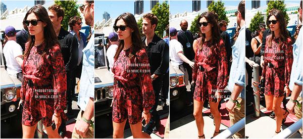 • CANDIDS - Le 11/07/15, Phoebe et Paul ont étés aperçus dans le comic con à San Diego..