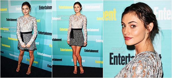 • EVENT - Le 11/07/15, Phoebe était au Entertainment Weekly Party du SDCC..
