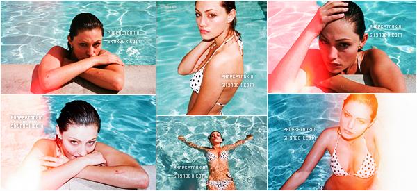 • SHOOT - Découvrez Phoebe dans un shoot datant de 2013 par Steve Dance..