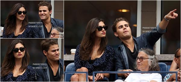 • EVENT - Le 12/09/15, Phoebe et Paul était également au U.S Open..