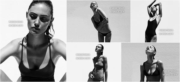 SHOOT - Phoebe a posée pour la nouvelle collection de maillot de bain pour Matte Swim By Alexandra Nataf #2..