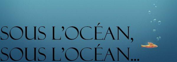 Nail art : Sous l'océan